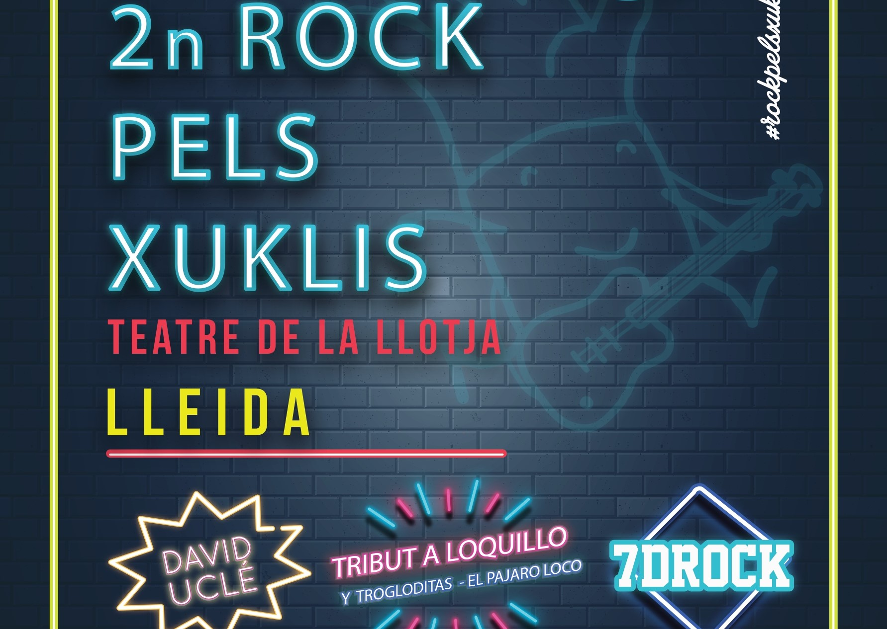 SUSPÈS: Rock pels Xuklis - a benefici d'AFANOC