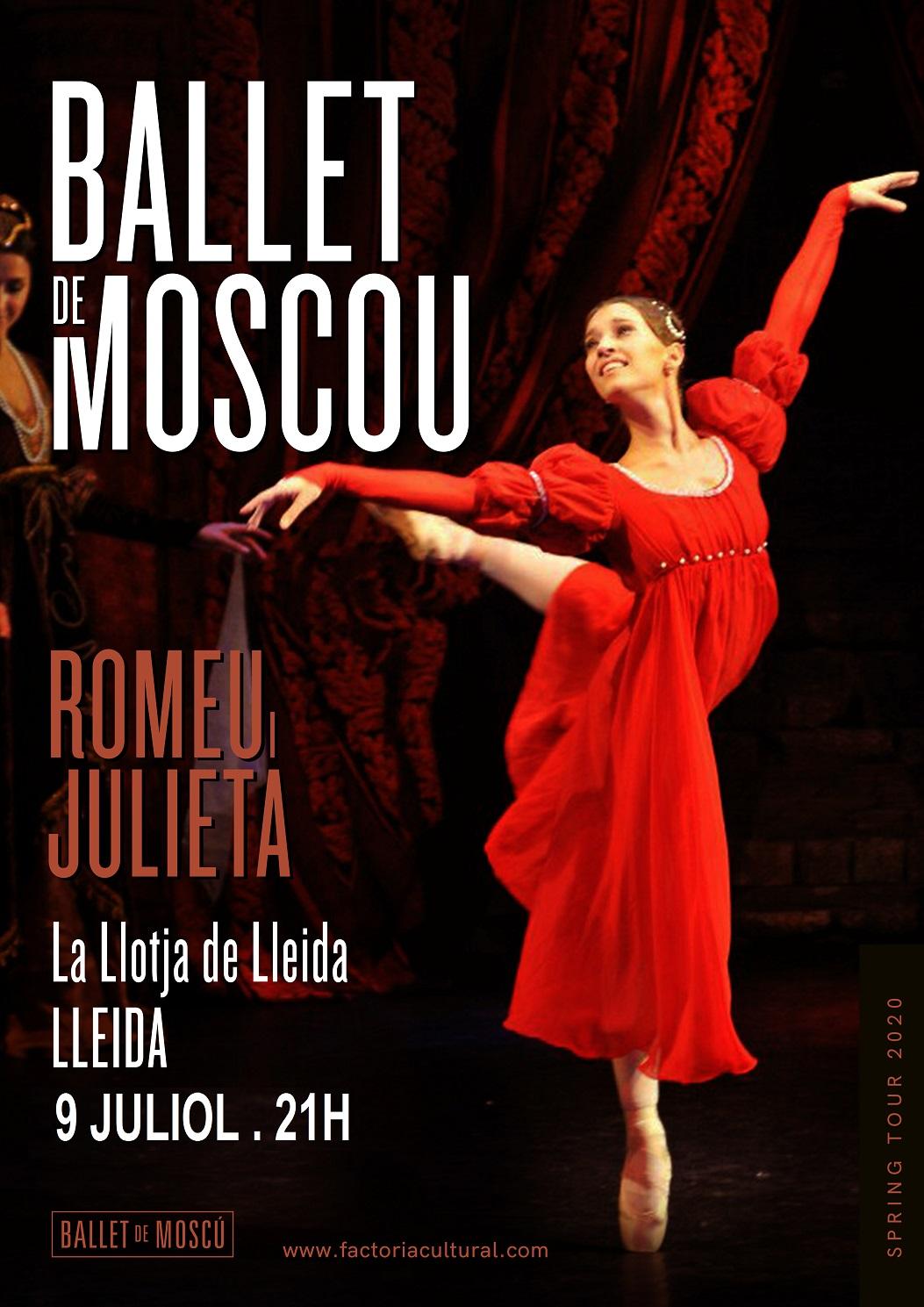 NOVA DATA: Romeu i Julieta - Ballet de Moscou