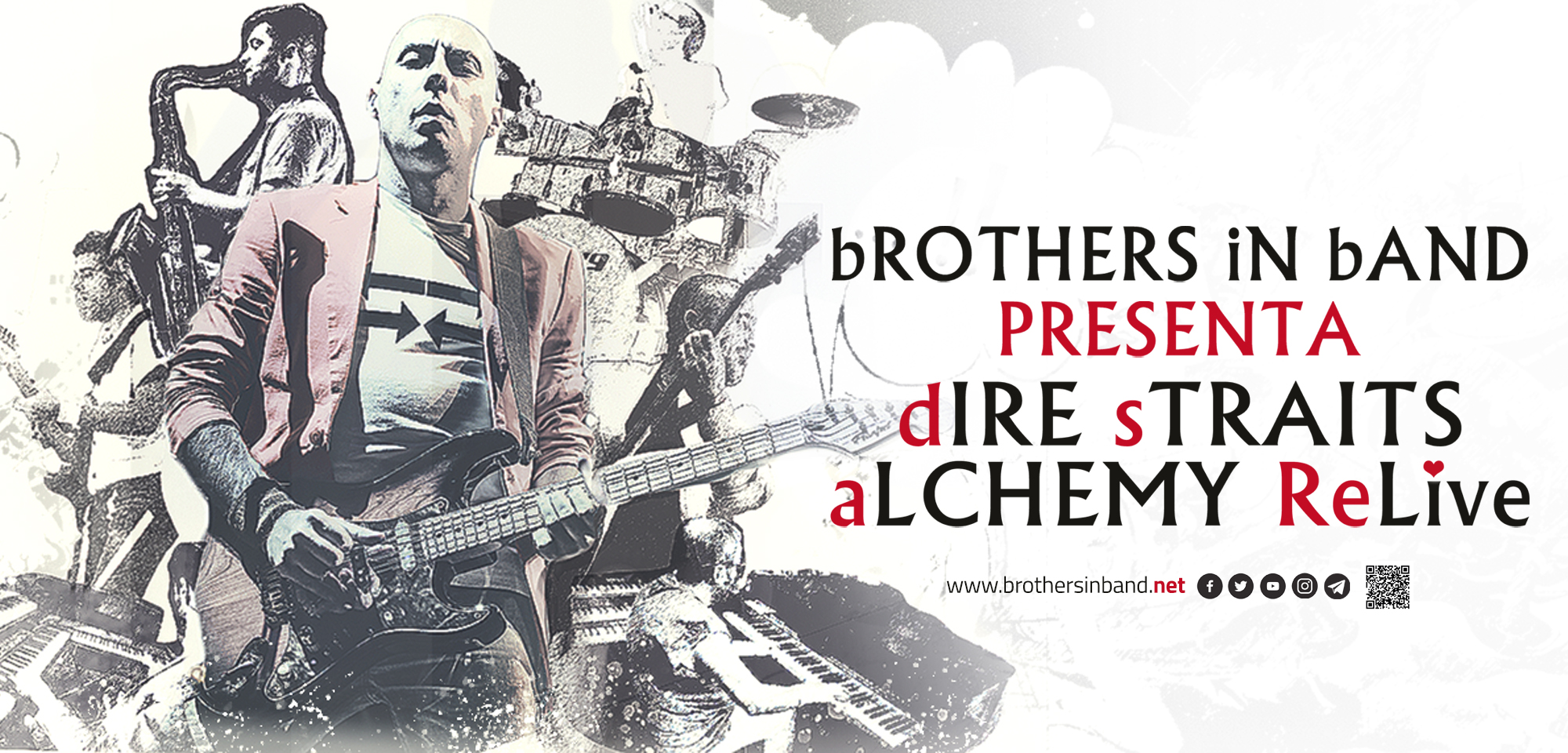 bROTHERS iN bAND - dIRE sTRAITS aLCHEMY ReLIVE